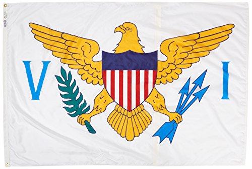 Annin US Virgin Islands Flagge 4 by 6 Foot Nicht zutreffend -