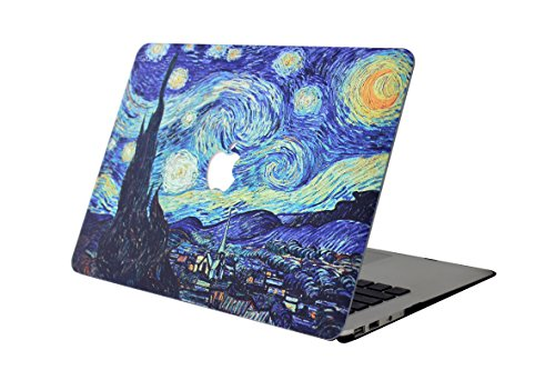 Custodia MacBook Air 13 Copertina, L2W [X Serie] Plastica Caso Rigida Custodia per Apple Laptop MacBook Air 13.3 pollici Modello: A1466 and A1369 - Star Dreams 37