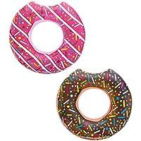 Bestway Dmail - Maxi ciambella salvagente gonfiabile - Donut