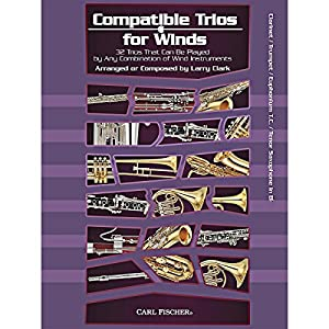 Larry Clark: Compatible Duets For Winds - Clarinet/Trumpet/T.C. Euphonium/Tenor Saxophone