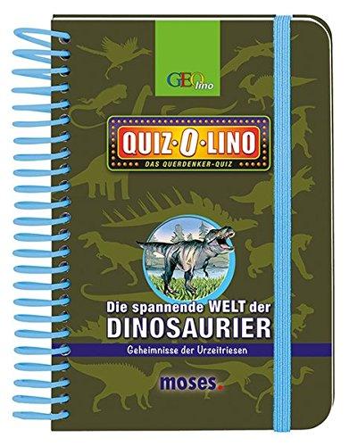 Preisvergleich Produktbild Quiz-O-lino - Die spannende Welt der Dinosaurier: Geheimnisse der Urzeitriesen