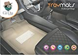 #7: QPO TMMG-115 3D Magic Grip Foot Mat for Renault Duster (Set of 5, Beige)