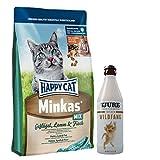 Happy Cat Minkas Mix 10 kg + 1 x TJURE Frecher Wildfang