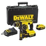 DeWalt 18V XR Lithium-Ion SDS Plus Rotary Hammer Drill includes 2 x 4Ah Batteries