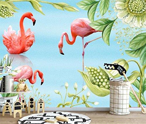 Rureng Personalizar Cualquier Tamaño De Los Niños Decoración De La Habitación Papel Tapiz 3D Estéreo Fondo Marino Delfín De La Historieta Del Mundo 3D Fondo De Pantalla