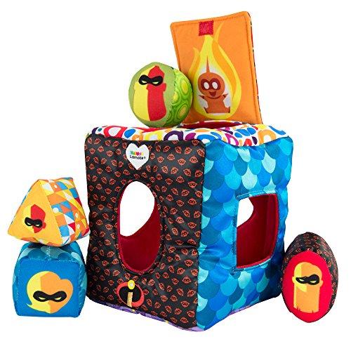 glaublichen - Softer Sortierspass - hochwertiges Kleinkindspielzeug - Babyspielzeug - Geschenk ab 6 Monaten Sortierspiel (Die Unglaublichen Baby Jack)