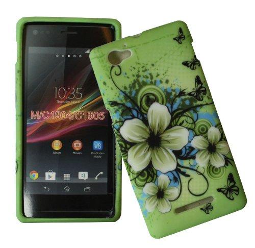 accessory-master-verde-custodia-guscio-in-silicone-per-sony-xperia-m-c1905-fiori-di-gelsomino-bianch