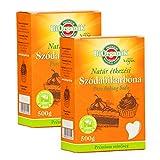 Baking Soda, Backsoda, Natriumhydrogencarbonat(E500ii) 2erPack(2x500g)
