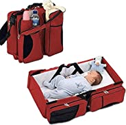 سرير وحقيبة للاطفال قابلة للطي 2 في 1 من بيبي ليان