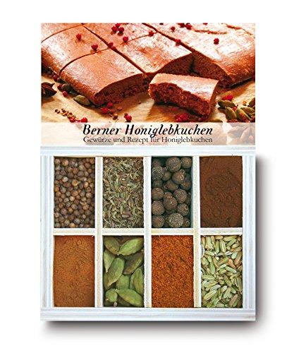 Feuer & Glas Lebkuchen di miele bernesi, spezie, ricetta & lista della spesa, 46g