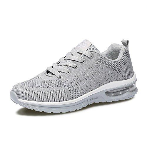 Fexkean Herren Damen Sneaker Laufschuhe Sportschuhe Air Leicht WalkingSchuhe Running Turnschuhe Shoes(5066GY40)