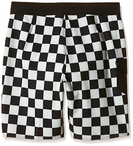 Vans Herren, Badeshorts, AMPSTER BOARDSHORT Mehrfarbig (black/whitecaps)