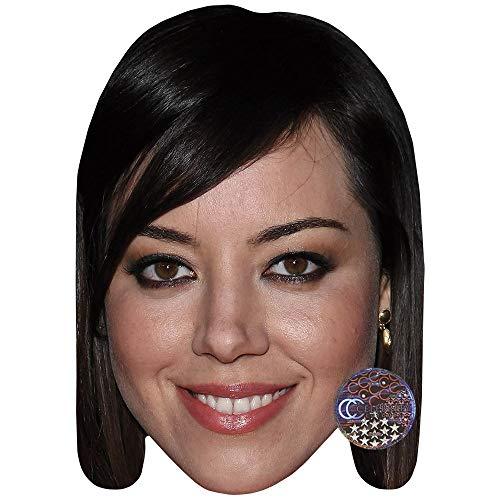 Celebrity Cutouts Aubrey Plaza (Earring) Big Head.