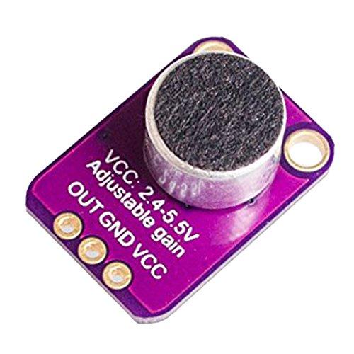 FITYLE Amplifier Breakout Modul für GY-MAX4466 Sensor für Arduino