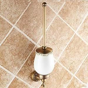 In ottone antico pennello WC titolare