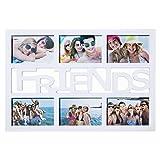 """Außergewöhnlicher Bilderrahmen Freundschaft Fotorahmen Bildergalerie Foto-Collage Galerierahmen """"Friends"""" Fotogalerie"""