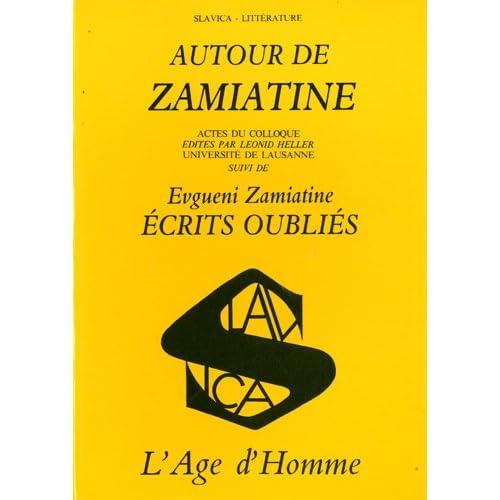 Autour de Zamiatine