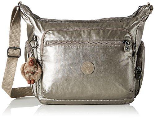 Kipling Gabbie Shoulder Bag for Women, 35.5 x 30 x 18.5 cm Gold Size: One Size