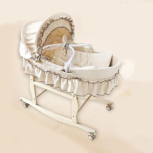 AIBAB Baby Wiege Bett Reine Handgewebte Tragbare Moskitonetz Sommer Kann Organische Farbe Baumwolle...