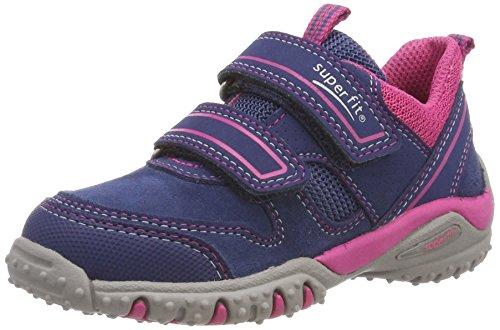 Superfit Mädchen SPORT4 Sneaker, Blau (Water Multi), 29 EU