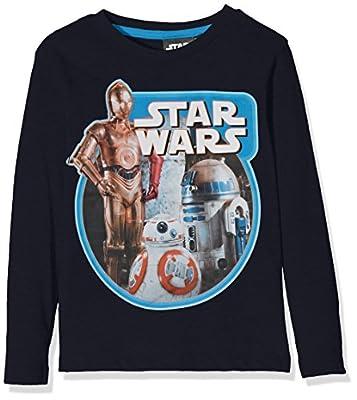 Disney Boy's Star Wars 7 T-Shirt