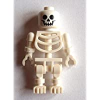 Lego white classiscal skeleton typical Minifigur