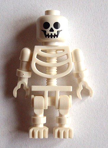 lett standart klassisch white skeleton Minifigur weiss ()