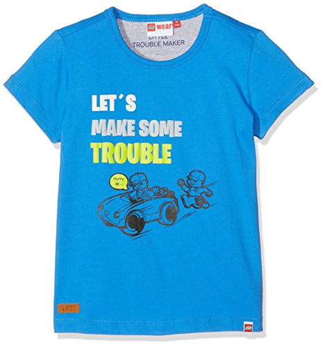LEGO Wear Baby-Jungen Duplo Texas 302-T-Shirt, Blau (Blue 542), 80