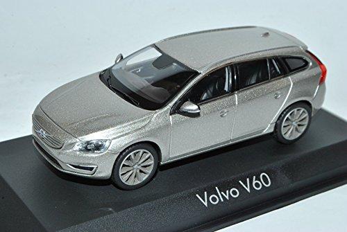 Preisvergleich Produktbild Volvo V60 Kombi Seashell Silber Facelift 2013 1/43 Norev Modell Auto