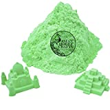 #2: AsianHobbyCrafts Kinetic Sand for Sand Modeling, Kids Activities, DIY Crafts : 980g : Green