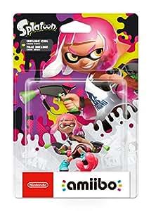 Nintendo Amiibo Ragazza Inkling Rosa Neon, Splatoon Collection