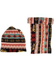 Gazechimp Sombrero Bufanda Gorro de Invierno Multiusos Caliente Durable Elegante de Multicolor Accesorio para Esquí Escalada