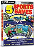 5 Sports Games (PC CD)