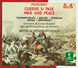 Prokofiev: War and Peace (Guerre & Paix) Box set Edition (1991) Audio CD