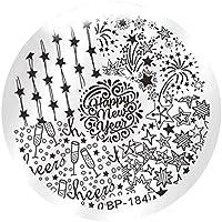 Boburyl Flor Mujeres polacas Stamping Nails Plantillas de la Belleza Atractiva la Imagen del Clavo Arte Plantillas.