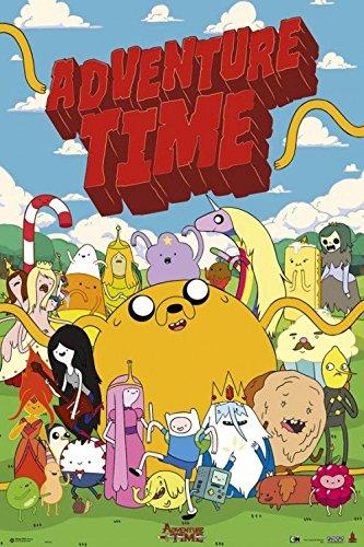 1art1-89846-Adventure-Time-Personajes-Poster-91-x-61-cm