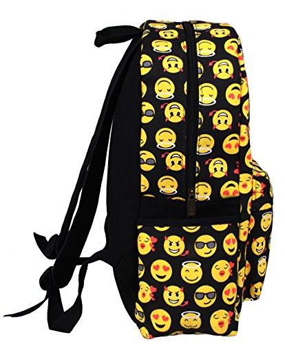 Imagen de tibes  escolar  emoji de estudiante cute bolsas  para niños multicolor 1 alternativa