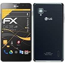 atFoliX Película Protectora LG Optimus G Lámina Protectora de Pantalla - Set de 3 - FX-Antireflex anti-reflectante