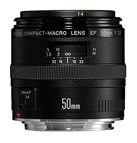 Canon EF 50mm/ 2,5/ Makro Objektiv (52 mm Filtergewinde)