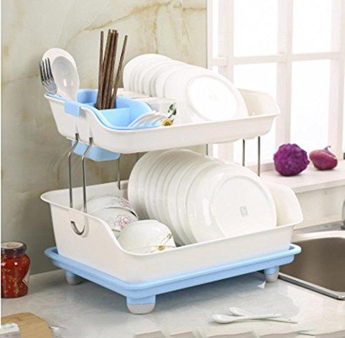 sql-cucina-del-doppio-piatto-rack-plastica-pesante-scarico-rack-di-stoccaggio-armadio-posate-ciotola