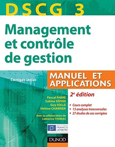 DSCG 3 - Management et contrôle de gest...