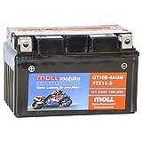 Moll mobike AGM Motorradbatterie YTZ10-S 8,5Ah 12V...