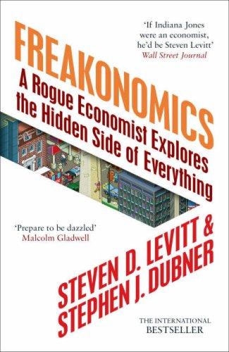 Buchseite und Rezensionen zu 'Freakonomics: A Rogue Economist Explores the Hidden Side of Everything' von Stephen Levitt