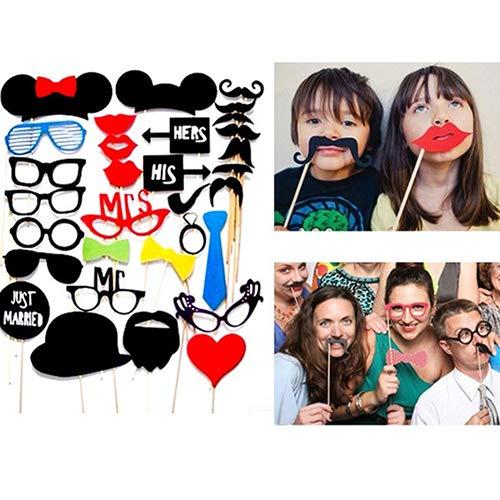 Steellwingsf Make-up-Set für Hochzeit, Geburtstag, Party, Cosplay, Brille, -