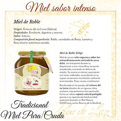 Jalea de Luz Miel Cruda Pura de Roble - 950 gr.