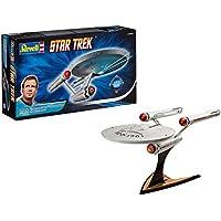 Revell Maqueta Star Trek U.S.S. Enterprise NCC-1701, Kit Modello, Escala 1:600 (4880) (04880), Color Gris