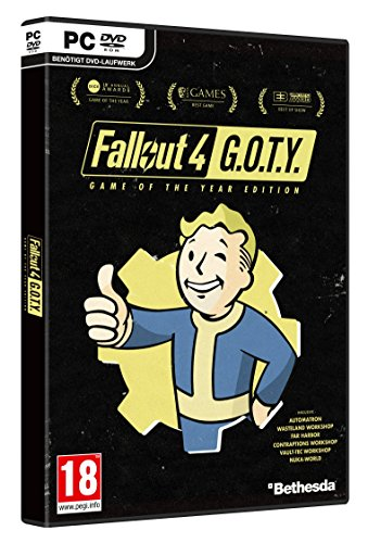 fallout 4 dvd Fallout 4 - Game of the Year Edition - [At -Pegi] -  [PC]