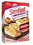 SlimFast Yogurt Meal Replacement Fruit Crunch 4 Meal Bars 217 Calories 15G Protein High in Fibre 23 Vitamins and Minerals 30% Less Sugar Grab and Go with Aetn Future Waist Tape Measure