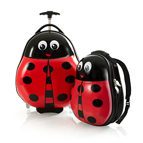 Heys Kids 2. Voyage Tots (Coccinelle) léger bagage et ensemble sac à dos