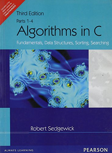 Algorithms in C: Fundamentals, Data Structures, Sorting, Searching, Parts 1-4, 3e